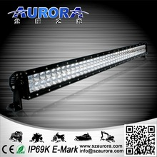 Super nice AURORA 4inch double row 40w led motorcycle lighting