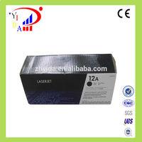 100% Genuine for HP 12A Black LaserJet Toner Cartridge Q2612A use for hp 1010/1012/1015/1018