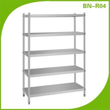 Bn-r04 venta al por mayor de acero inoxidable de la cocina estante de placa