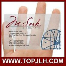 Fashionable PVC Club Cards
