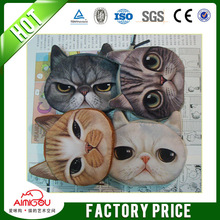 High quality manufacturer wholesale cheap funny cat face soft fabric pet carrier