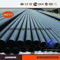 Pe, polietileno de alta densidad y material iso4427 negro estándar de agua de plástico tubo de rollo de