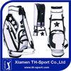 Hot Selling Star Printing PU Golf Staff Bag
