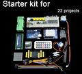 nuevo de onu r3 starter kit lcd 1602 el motor servo de la matriz de punto llevado protoboard para ardu buena