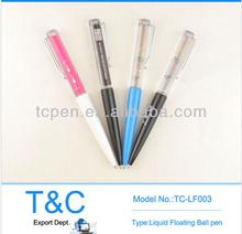 Logo Custom Design Liquid Floating Pen