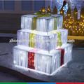 nuevo diseño de navidad de acrílico caja de regalo