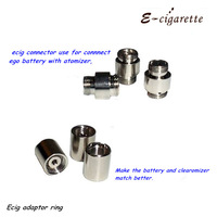 ecig adaptor stainless steel 510 ego adaptor, connector for atomizer and battery