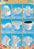 Guangdong foshan durable PVC fittings/PVC pipe fittings 75mm