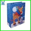Yiwu 2015 New Arrived handmade customized made printed elegant Christmas gift paper bag