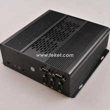 Embeded Mini Computer A05M5S 4-5 COM serial ports Intel D525 Dual Core four thread 1.8Ghz GMA3150 graphics nm10 LPT 6 USB