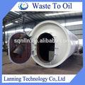 Fornecimento de venda quente projeto o mais novo de lixo plástico em óleo diesel com 50% rendimento de óleo