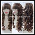 alta qualidade futura fibrassintéticas perucas de cabelo encaracolado peruca das mulheres
