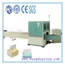 CNC Processing Siemens PLC Control 120-150cuts/min Full Auto Face Tissue Paper Log Saw Machine