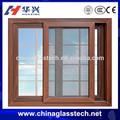 /ccc ce- aprobado fashional de aluminio triple acristalamiento ventanas