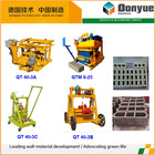 good quality movable used concrete block making machine made in China