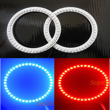Super Bright led angel eye 60mm 70mm 80mm 90mm 100mm 110mm 120mm 130mm 140mm color changing