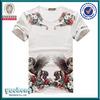 graphic tees t-shirt short sleeves lycra t shirt own factory wholesale cheap custom men fancy t shirt