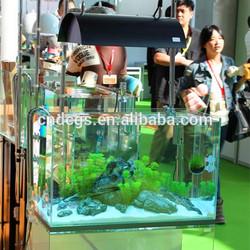 DICI super white glass co2 tank aquarium