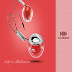 Mini crystal ball speaker portable