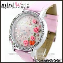 hot sale polymer clay handmade vogue watch korea design fashion vogue watch