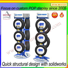 Fashion tires display stand