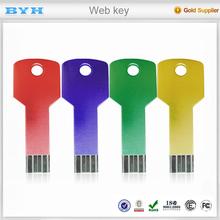 Manufactory wholesale promotion cheap webkey promotion gifts auto URL webkey 1mb
