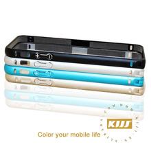 Hot 2014 Ultra thin Aluminium Arc Edge Bumper Frame for case iphone 5