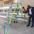los tipos de la capa de jaulas de pollo para zimbabwe granja de aves de corral