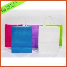 2014 Low cost kraft paper bag /paper bag specification