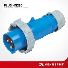 Hennepps IP67 EU 3 Pin waterproof industrial Plug 230V 32A