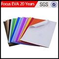 De espuma eva/color escarcha arte adhesivo en goma eva fabricante