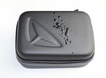 F09008 Portable EVA Bag Cover 16 x 11 x 6.5 cm Protective Waterproof Case for HD Camera Color Black