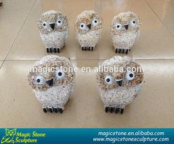 wholesale carving granite rock owl