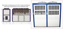 YEMOO Bitzer Copeland 8HP air conditioner/car condenser condensing unit refrigeration parts for mitsubishi pajero