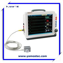 High Performance ECG RESP NIBP SPO2 TEMP Patient Monitor Medical Device Market