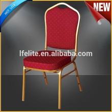 Iron frame king hotel chair for wedding,modern hotel chair EB-06
