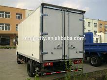 chile FURGONES TRUCK/cooling frozen truck box body,dry box truck body