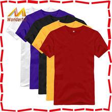 Casual short sleeve blank organic cotton t shirts customized for men good craftmanship organic cotton t shirt