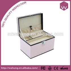 pink portable decorative jewelry case