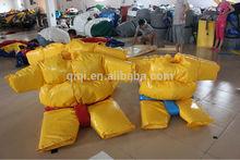 New making sumo suit foam