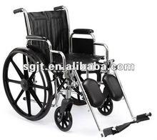 Economy steel manual wheelchairs provider