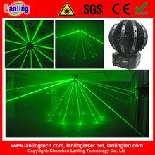 72 Green Fat Laser / Disco Ball Laser Light