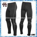 Asciugatura rapida pantaloni stretti mens, mens collant a compressione, sexy nero bodybuilding usura
