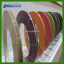 Decorative Solid and Wood Grain PVC Edge Banding