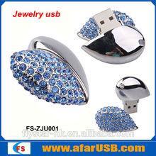 Wedding gift Ring jewelry diamond USB Flash Drive 2GB 4GB 8GB 16GB 32GB 64GB