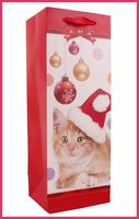 New Design Christmas Wine Glass Carrier Bag