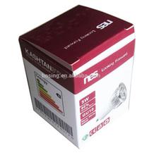 De alta qualidade caixa de papel dobrável para diodo emissor de luz