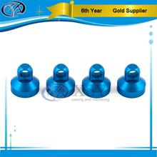 blue anodizing aluminum cap
