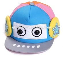 custom design cotton baby snapback cap