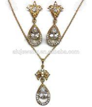 18 Carat Gold Jewelry Set